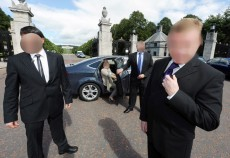 Close Protection - Vehicle Drill & Bodyguards